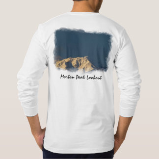 Morton Peak, CA Back T-Shirt