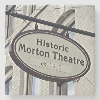Mortons Theatre Athens Georgia Marble Coaster