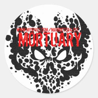 Mortuary Sticker