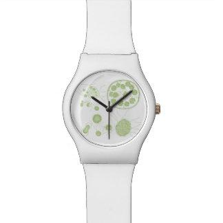 Morum de Pandorina de las algas verdes Reloj