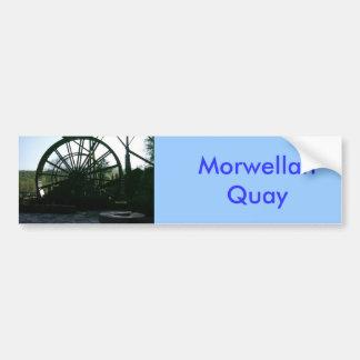 Morwellan Quay, Cornualles Pegatina Para Auto