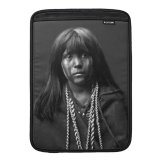 Mosa - A Mojave Woman by Edward S. Curtis MacBook Sleeve