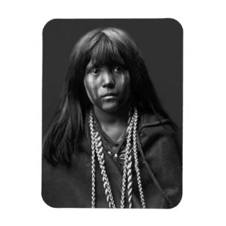 Mosa - A Mojave Woman by Edward S. Curtis Magnet