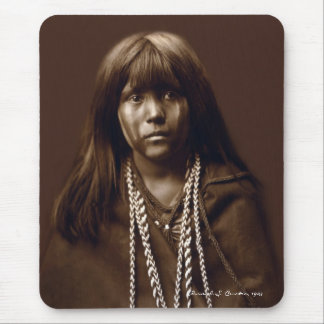 Mosa - A Mojave Woman - Native American Archives Mouse Pad