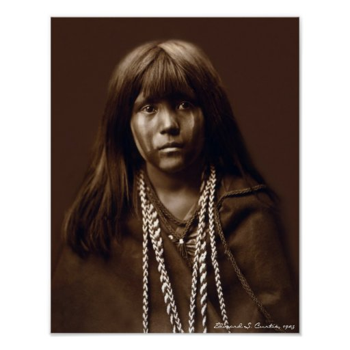 Mosa - A Mojave Woman - Native American Archives Print