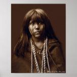 Mosa - mujer del Mojave - archivos del nativo amer Posters