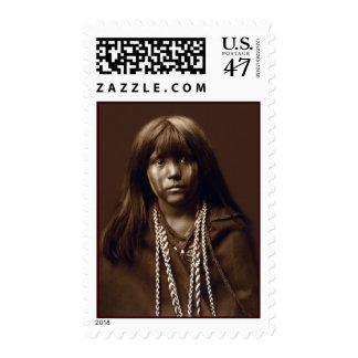 Mosa - mujer del Mojave - archivos del nativo Estampillas
