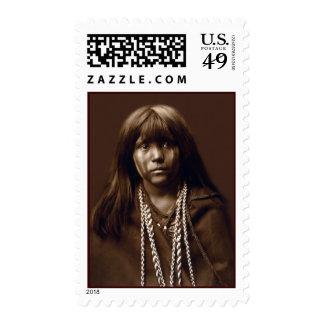 Mosa - mujer del Mojave - archivos del nativo Franqueo