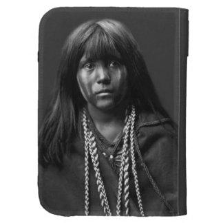 Mosa - mujer del Mojave de Edward S. Curtis