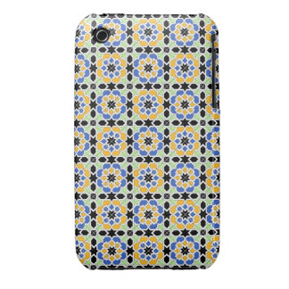 Mosaic 02 in flowers of landlord of geometry in iPhone 3 cover