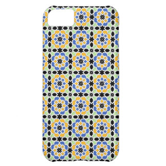 Mosaic 02 in flowers of landlord of geometry in iPhone 5C cover
