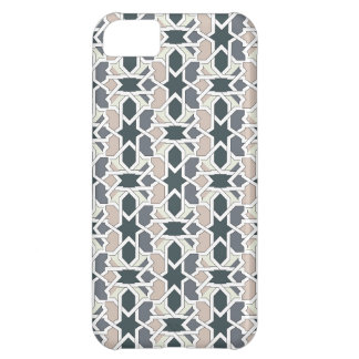 Mosaic 03 in cord of landlord of gray geometry cover for iPhone 5C