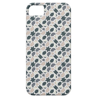 Mosaic 03 in cord of landlord of gray geometry iPhone SE/5/5s case