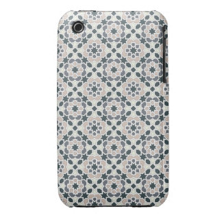 Mosaic 03 in flowers of geometry in grays in