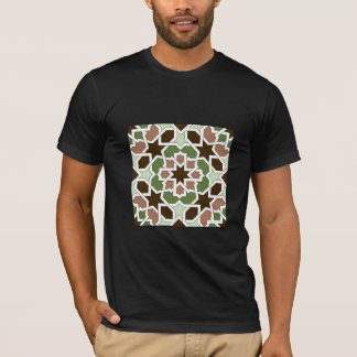 Mosaic 04 brown green arabesque landlord geometric T-Shirt