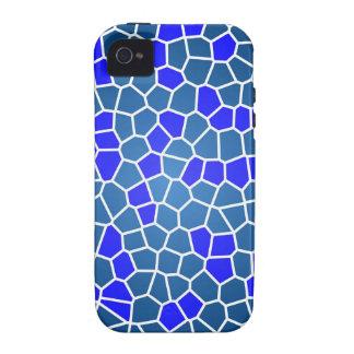 mosaic-269080  DIGITAL SNAKE SKIN ABSTRCT RANDOM m iPhone 4/4S Case