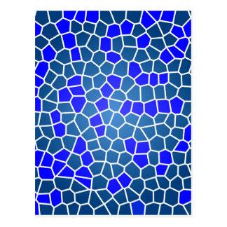 mosaic-269080  DIGITAL SNAKE SKIN ABSTRCT RANDOM m Post Cards