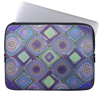 Mosaic 2 Fractal Abstract Art Laptop Computer Sleeves