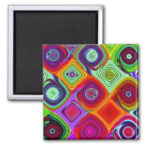 Mosaic 2 Inch Square Magnet
