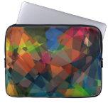Mosaic Abstract Art | Modern Geometric Pattern 15 Laptop Sleeves