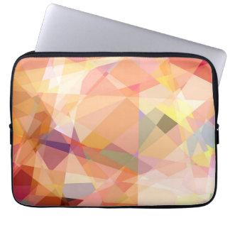 Mosaic Abstract Art | Modern Geometric Pattern 24 Laptop Sleeves