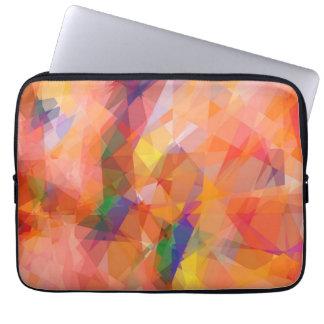 Mosaic Abstract Art | Modern Geometric Pattern 3 Laptop Computer Sleeves