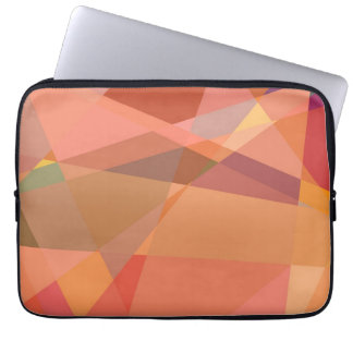Mosaic Abstract Art | Modern Geometric Pattern 9 Laptop Sleeves