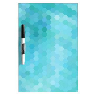 Mosaic Abstract Art Modern Geometric Pattern Dry-Erase Board