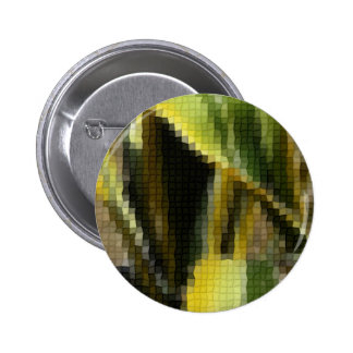 Mosaic Agave Americana - Maguey Enhanced 2 Inch Round Button