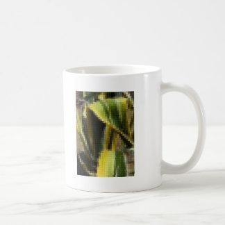 Mosaic Agave Americana - Maguey Enhanced Classic White Coffee Mug