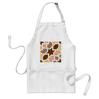 Mosaic and art of Morocco. Arts of arabesque Adult Apron