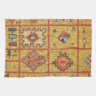 mosaic arab decoration architecture morocco islam hand towel