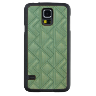 Mosaic Background Carved® Maple Galaxy S5 Case