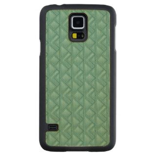 Mosaic Background Carved® Maple Galaxy S5 Slim Case