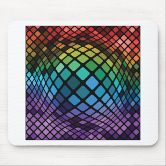 Mosaic Background Mouse Pad