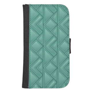 Mosaic Background Wallet Phone Case For Samsung Galaxy S4