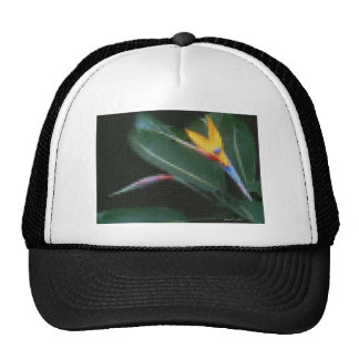 Mosaic Bird of Paradise 2 Trucker Hat