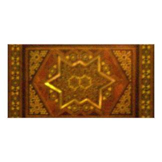 Mosaic Box in Brown Card