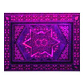 Mosaic Box in Purple Card