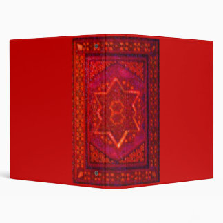 Mosaic Box in Red Binder