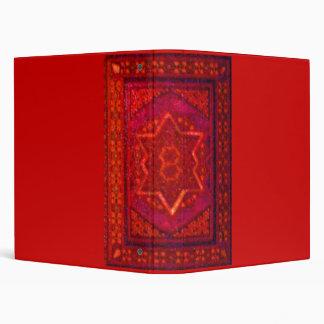 Mosaic Box in Red Binder