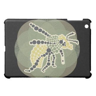 Mosaic Bug on Black iPad Mini Covers