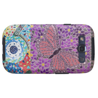 MOSAIC BUTTERFLY GALAXY S3 COVER