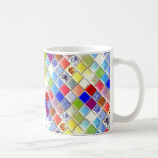 Mosaic Ceramic Tile Coffee Mug