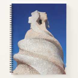 Mosaic chimney notebook