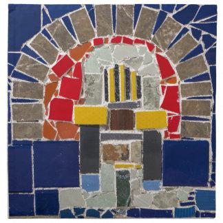 Mosaic Cloth Napkin
