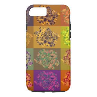 mosaic color squares iPhone 8/7 case