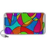 Mosaic - colorful travelling speakers