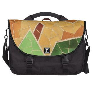 Mosaic decoration bags for laptop