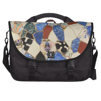 Mosaic decoration bag for laptop
